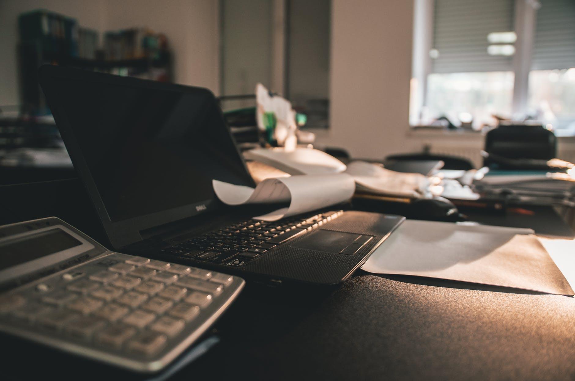 Skrivebord-lommeregner