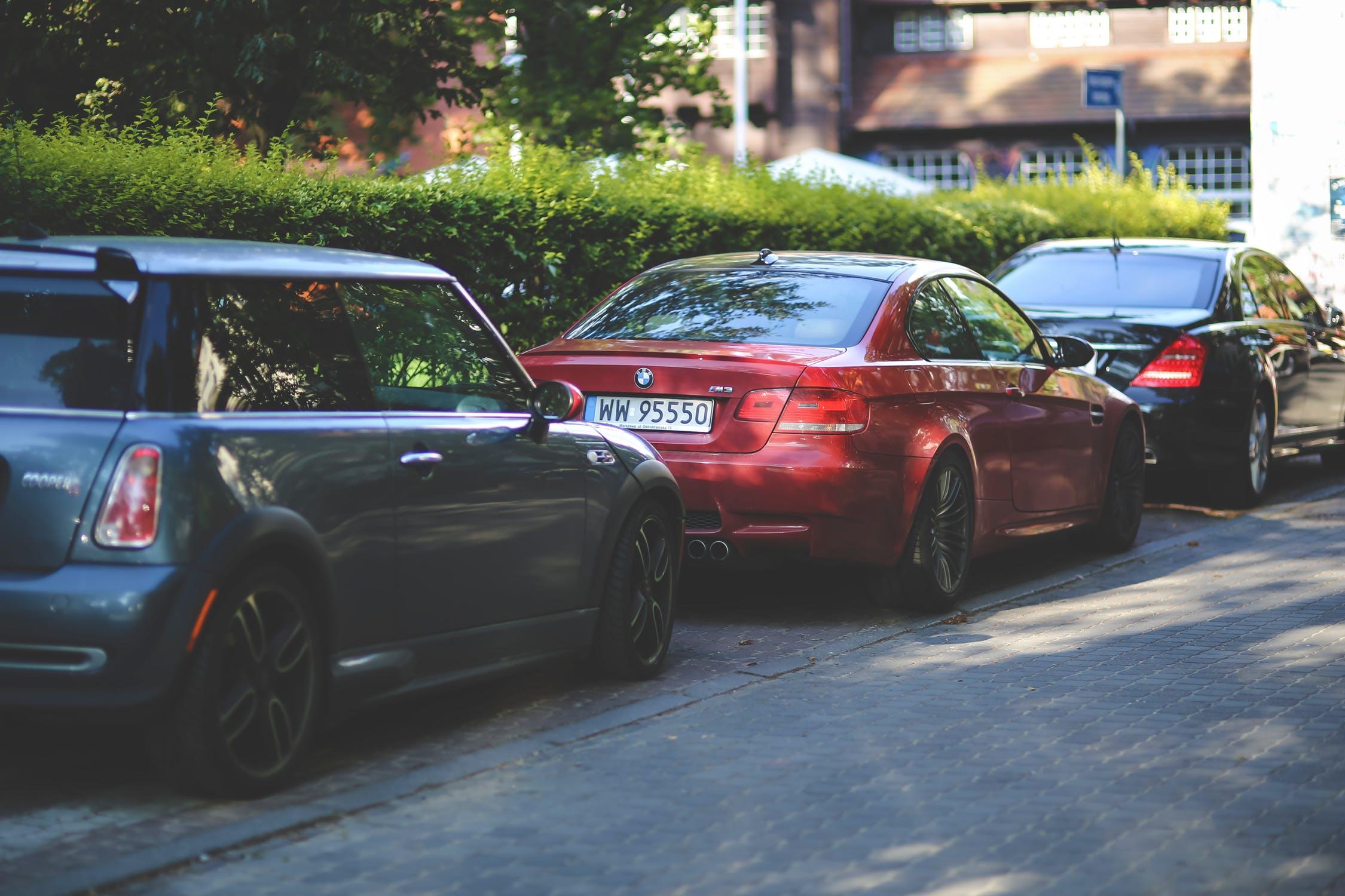 Parkerede biler