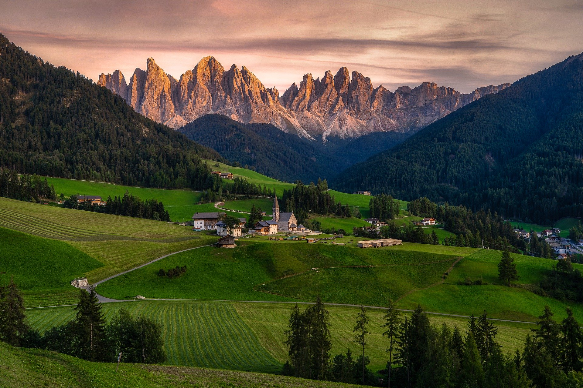Italien har billedskøn natur