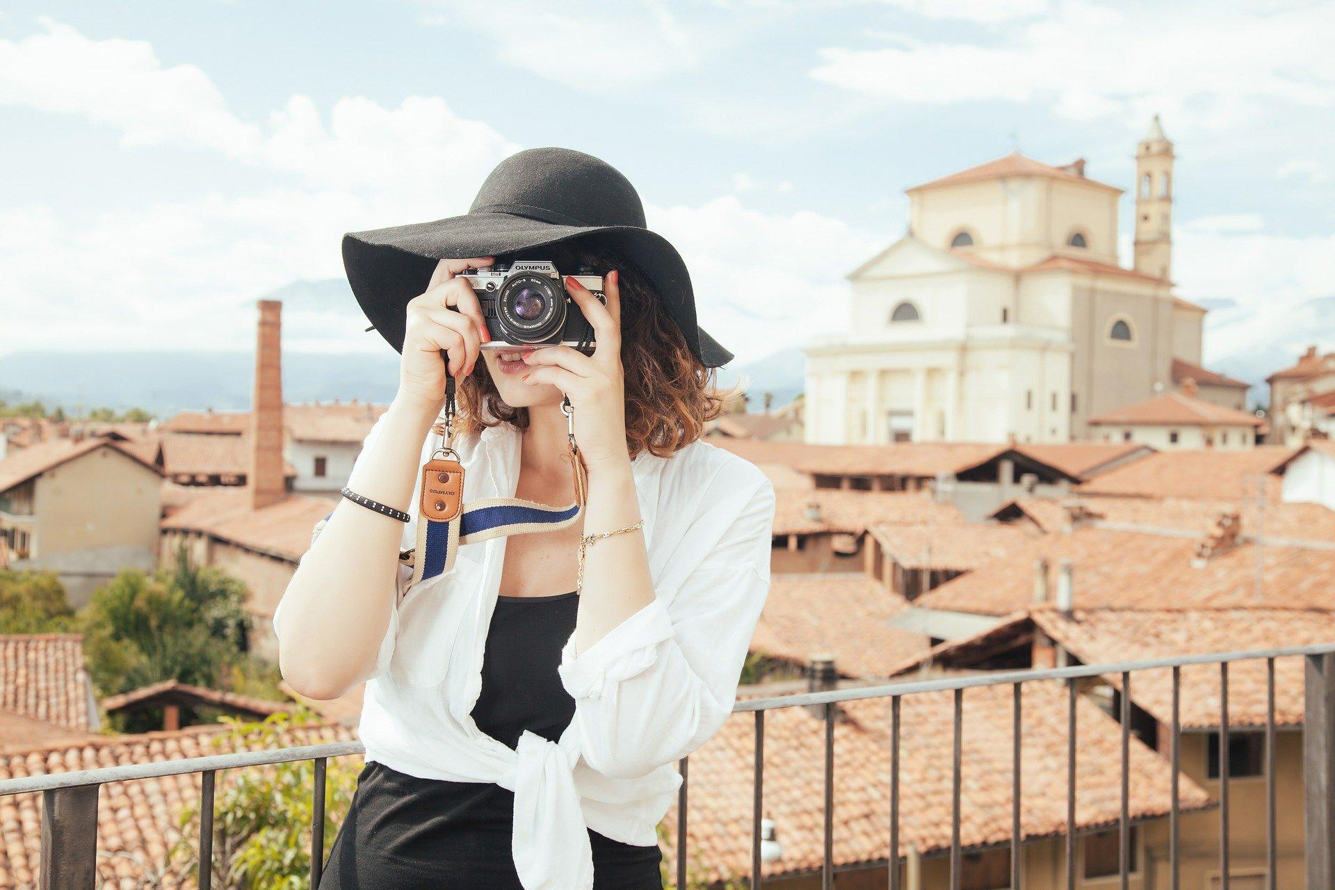 Tag billeder med en lokal guide i Italien